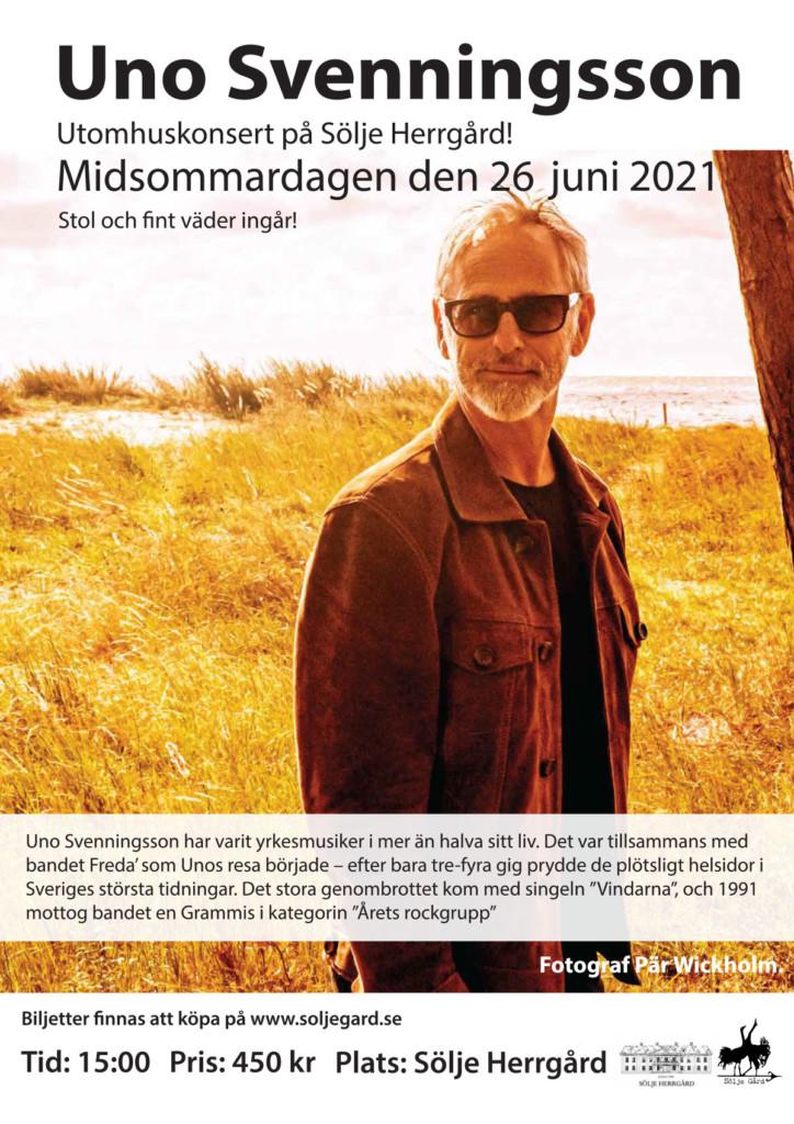 Uno Svenningsson Midsommardagen på Sölje Gård