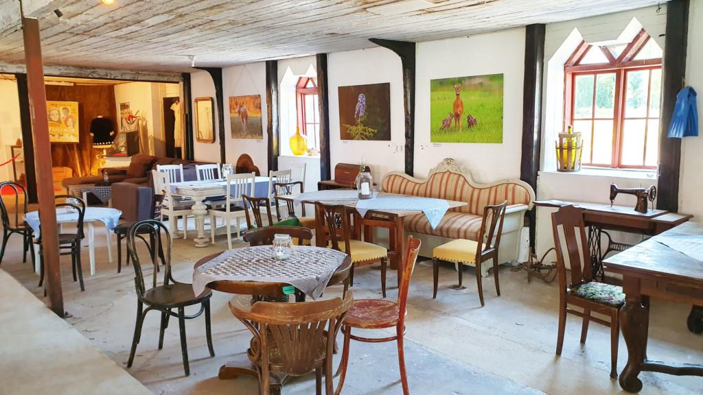 Café Petré Sölje Gård interiörjpg